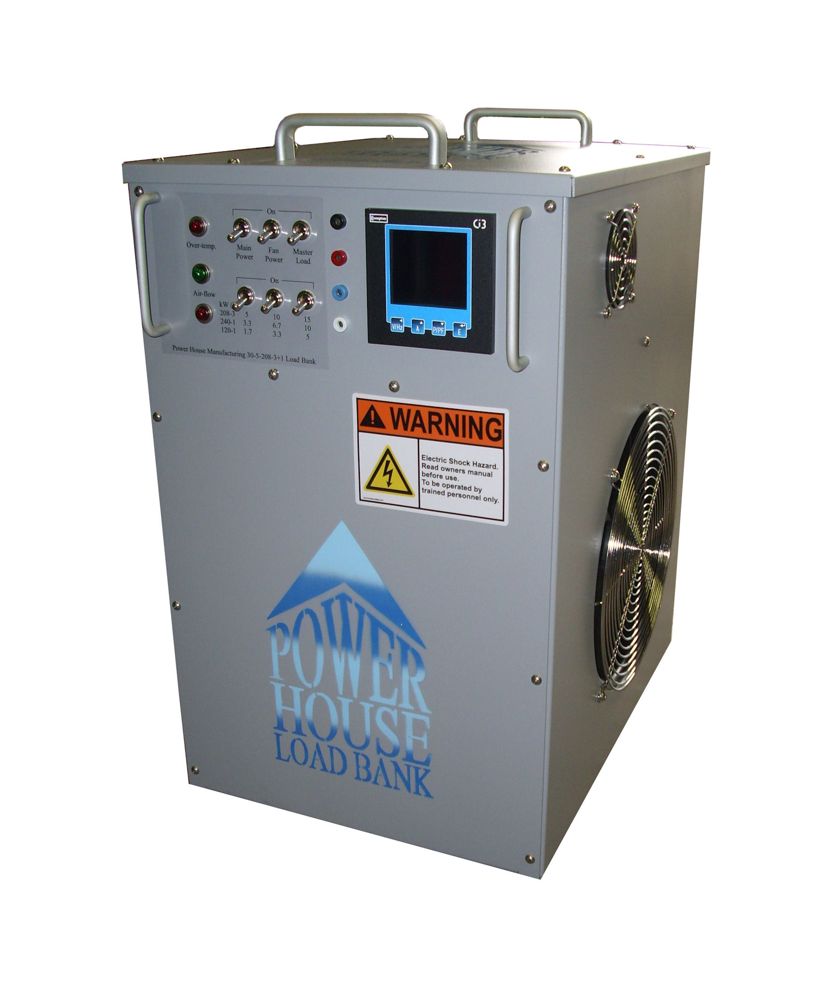 AC Load Banks - Load Banks by Power House Manufacturing