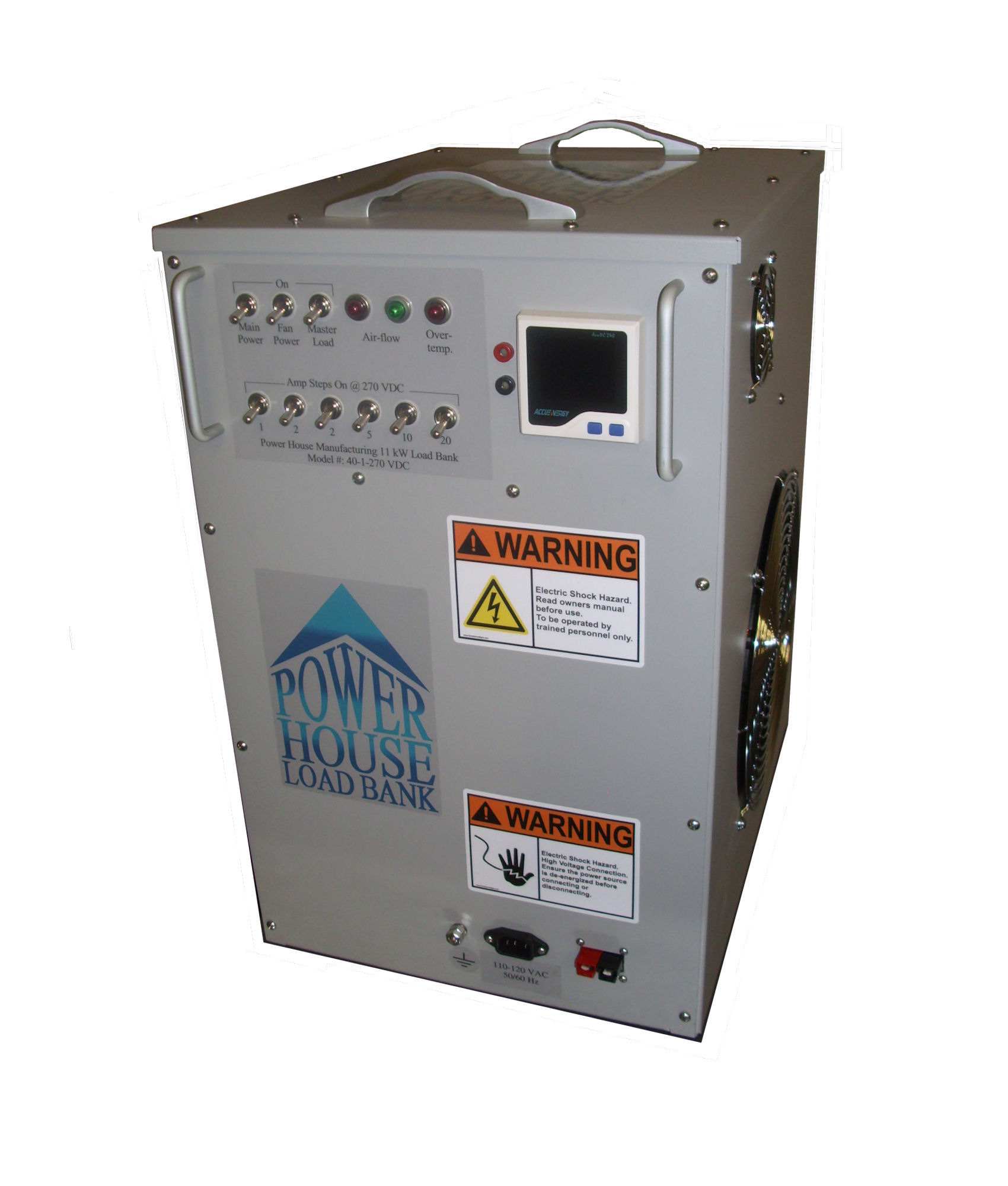 Bank 3 Meter.Dc Load Banks Load Banks By Power House Manufacturing